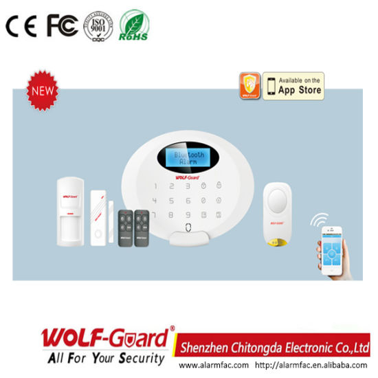 China Bluetooth Home Security with GSM Alarm System APP (M3GB