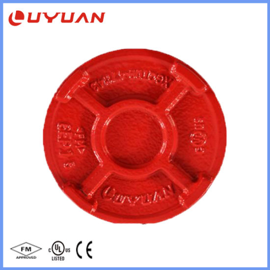 Ductile Iron Threaded Pipe Fitting and Cap End for Piping pictures & photos