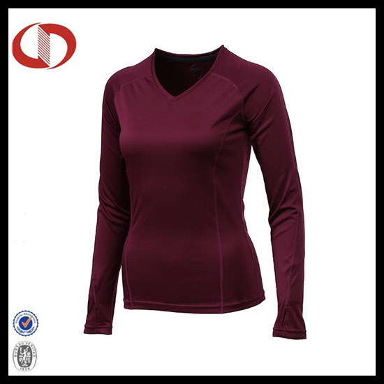 Lady OEM Compression Clothing Compression T Shirt