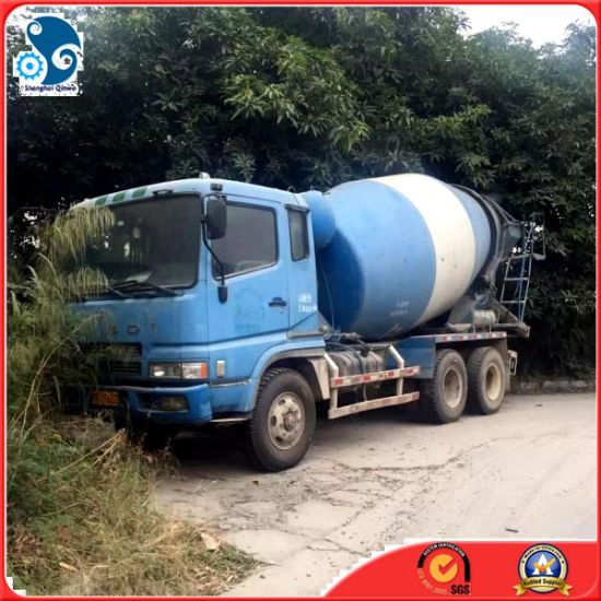 Japan-Made14ton Rustless Fuso Mitsubishi Cement Mixer Truck with 9m3- Concrete-Pump pictures & photos