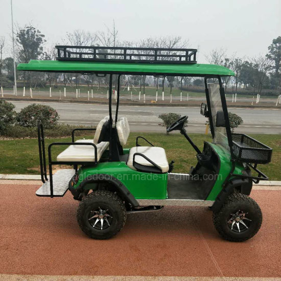 China Hot Sale 4 Seater Electric Golf Cart Club Buggy Car Club Car