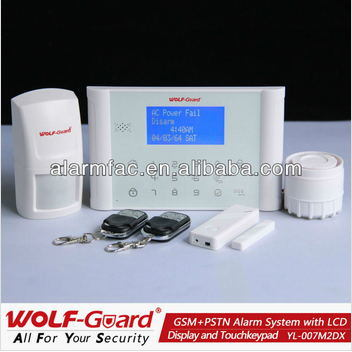 Factory Wholesale Best Price GSM Smart Home Safe Simple Alarm System with Touch Keypad pictures & photos