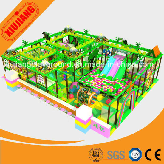 CE Approved Indoor Soft Play Equipment for Entertainment Park