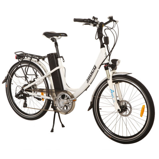 26′′ Wholesale Lady Bike Electric City Bicycle with Rear Motor pictures & photos
