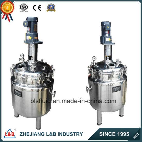 Price of Stainless Steel Bls 200L Vacuum Cosmetic Homogenizer Mixer