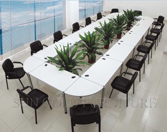China Wooden Oval Large Conference Meeting Table Office Furniture - Large oval conference table