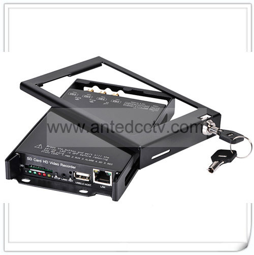 4 Channels Mobile DVR SD Card Video Recorder for Vehicles Cars pictures & photos