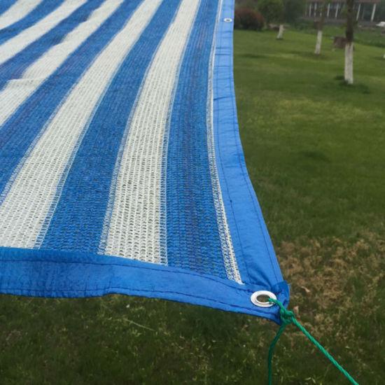 China Sun Shade Sail Mesh Net Outdoor Garden Plant Cover Canopy