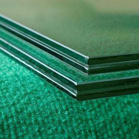 8mm 10mm 12mm Thick Clear Laminated Building Glass