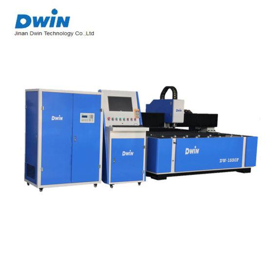 500W 750W 1000W 1500W 2000W Metal Fiber Laser Cutting Machine Dw-1530F