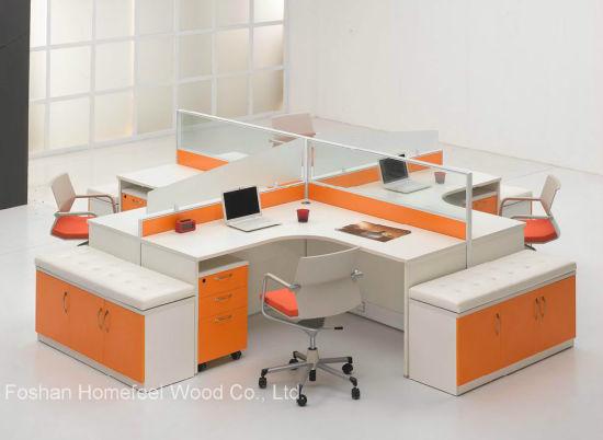 office desk workstation.  Workstation Modern Office Design Aluminium Frame Glass Desk Workstation  HFLT030 On