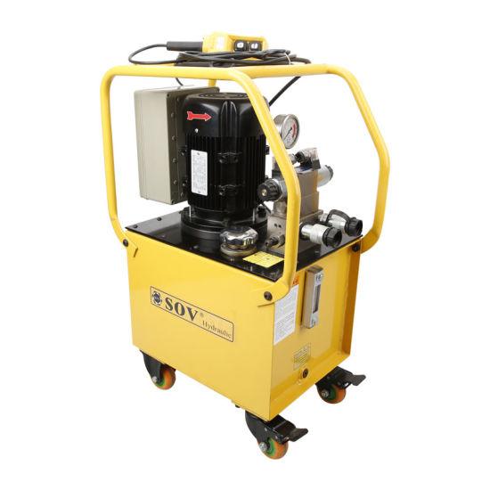 100L Oil Tanks Capacity Electric Hydraulic Oil Pump