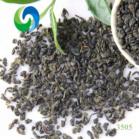 EU Standard Chinese Gunpowder Green Tea 3505c Health Food Herbal Tea