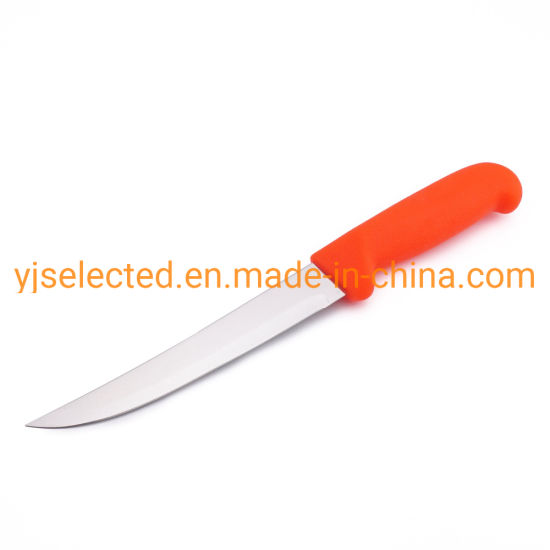 "6"" Straight Boning Knife with Stiff Blade and Polypropylene Handle"