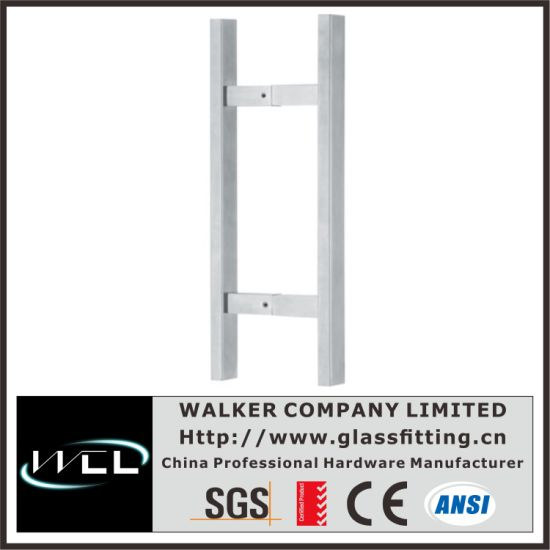 Ladder Style Squre Tube Furniture Harware Pull Pairs (SHD08F) pictures & photos
