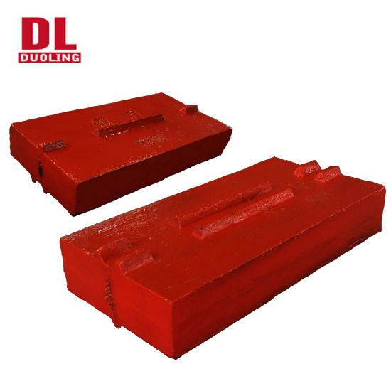 Wear Resistance Blow Bars Liners Impact Crusher Spare Parts