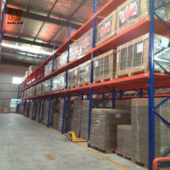 Top Supplier Mobile Steel Double Deep Storage Racking