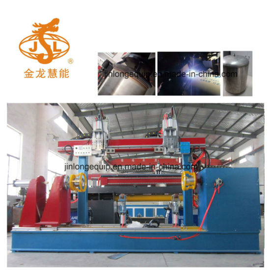 Automatic TIG Circular Seam Welding Machine for Solar Water Heater Production Line