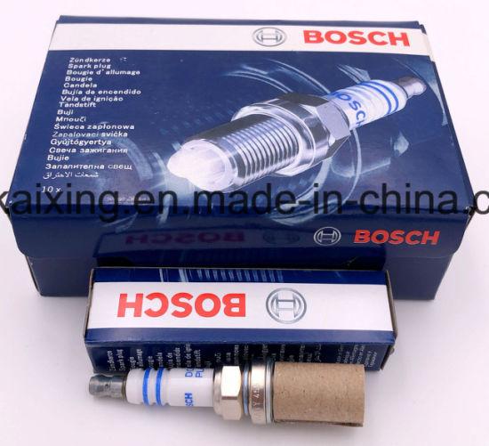 4x Bosch Zündkerze FR8DC Super plus Spark Plug Bougie Candela Bujía Tennplu