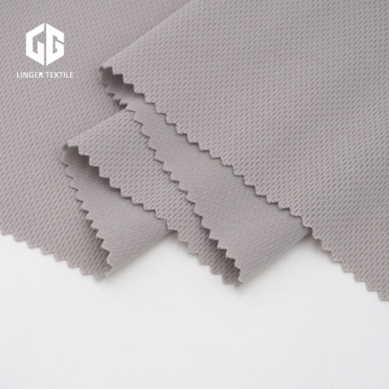 100% Polyester Bird Eye Fabric for Fashion Clothes