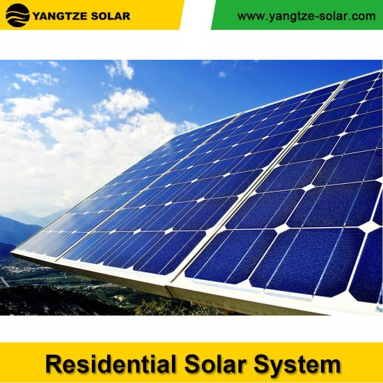 China Yangtze 1500watt Solar System All in One LED Solar