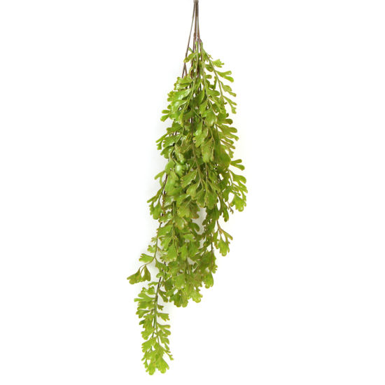Wholesale Decoration Plastic Foliage Plants Artificial Green Vines Leaf  Leaves for Home