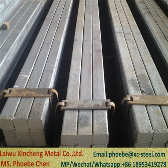 Ss400 St37-2 Q235B Steel Square Bar - China Carbon Steel Square Bar pictures & photos