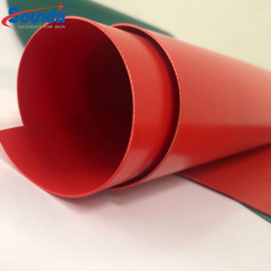 Wholesales PVC Tarpaulin Per Meter Price China Factory