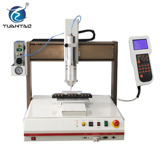 Ce Approved Xyz Axis Table Glue Dots Dispenser Machine