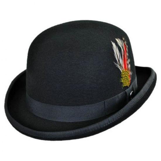 2019 Fashion Best Hand-Feeling Wool Felt Men's Bowler Hat