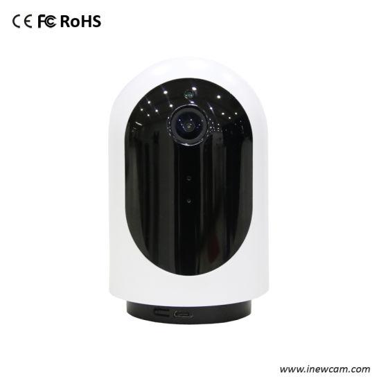 Auto Rotate 7 Meters Mic Clear Mini Home IP Wireless Webcam