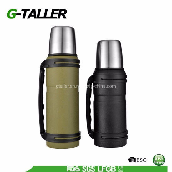 PRO-Grade 18/8 Stainless Steel Vacuum Thermos Flask