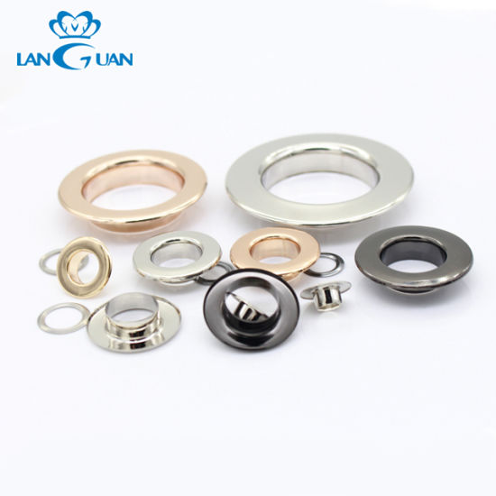 Customize Size Curtain Metal Eyelet Customize Color Brass Eyelet for Shoe