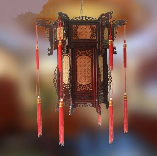 Chinese Antique Red Palace Lantern