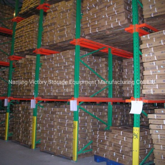 China Manufacture Warehouse Heavy Duty Pallet Rack Drive in Shelving
