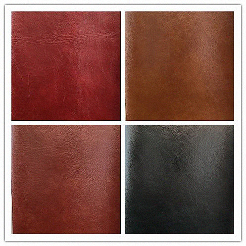 Smooth Oil Wax Microfiber PU Imitation Leather Fabric for Sofa Furniture Chair Seat Cover