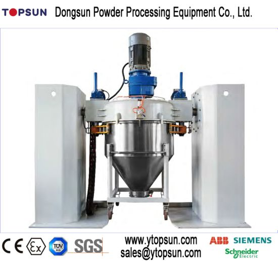 Powder Coating/Paint Producing/Manufacturing/Production/Making High Speed Pre/Double Cone/Container Mixer pictures & photos