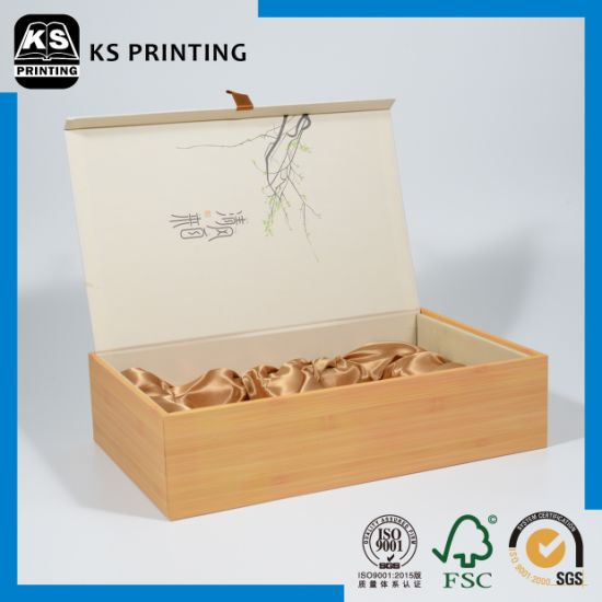 High Quality Wood Gift Box Packaging Paper Box pictures & photos