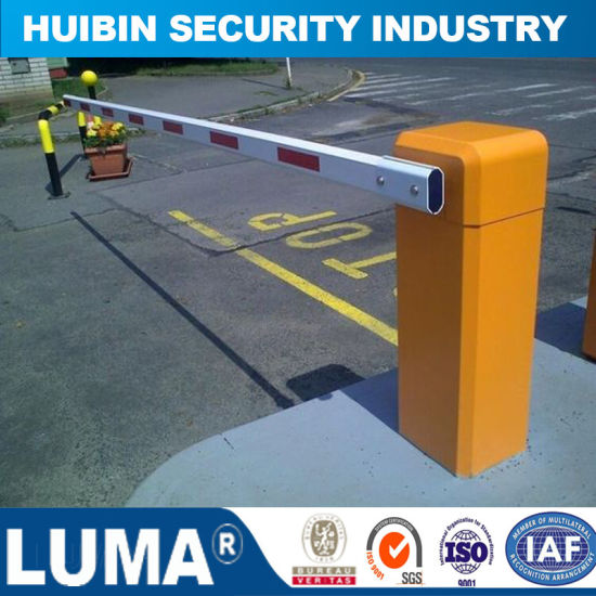 Automatic Boom Barrier Road Gate, Security Barrier Boom Arm Gates for  Control