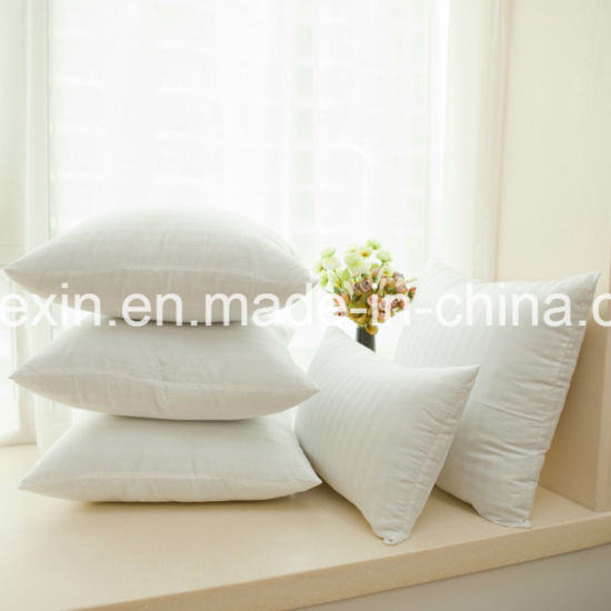Pillow Insert with 1.2D Virgin Siliconized Fiber PP Cotton pictures & photos