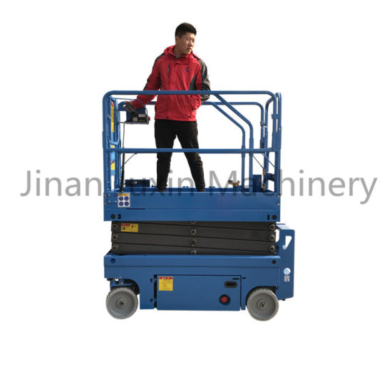 6-12m Self Propelled Mobile Scissor Lift/ Cheap Price Scissor Lift with Battery