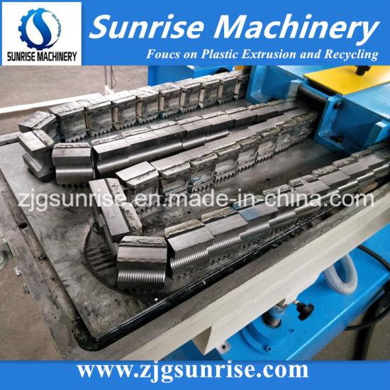 Plastic HDPE PE PVC Single Wall Corrugated Pipe Soft Hose Extrusion Making Machine