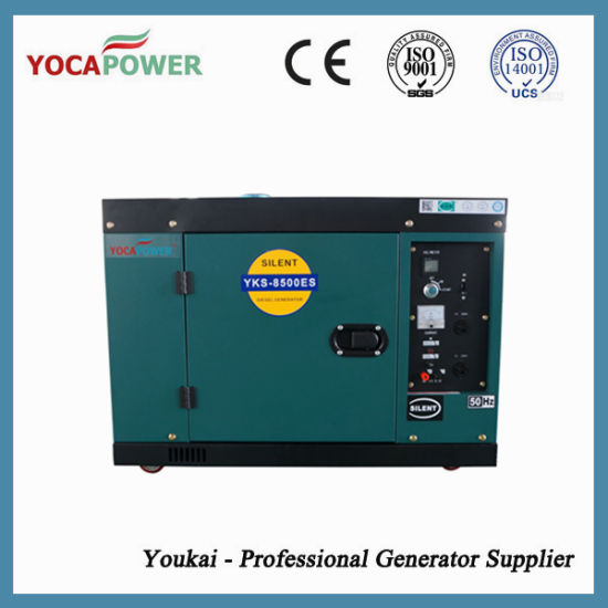 7kVA Portable Soundproof Small Electric Generator pictures & photos