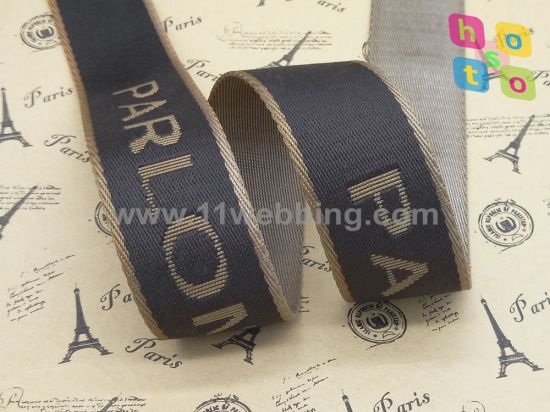Polyester/Nylon Jacquard Webbing for Bag Accessories Shoulder Strap pictures & photos