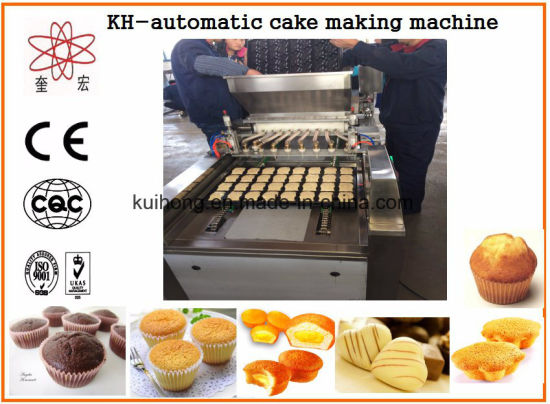 Kh High Quality Cake Manufacturing Machine pictures & photos