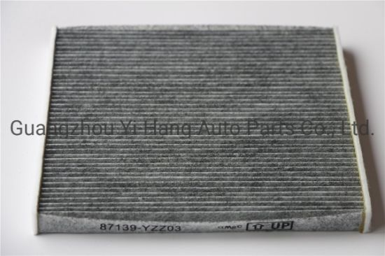 OEM 87139-Yzz03 87139-33010 Auto Cabin Air Filter for Toyota Lexus Vehicle Heating and Air Conditioning System One Year