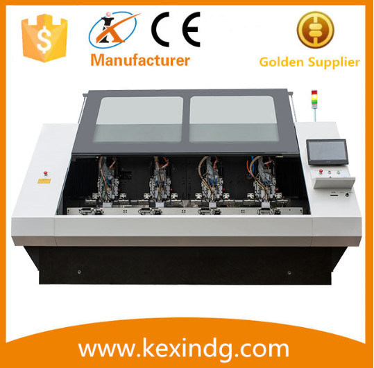 CNC 4 Spindles Drilling Routing Machine for PCB with (CE) Certificate pictures & photos