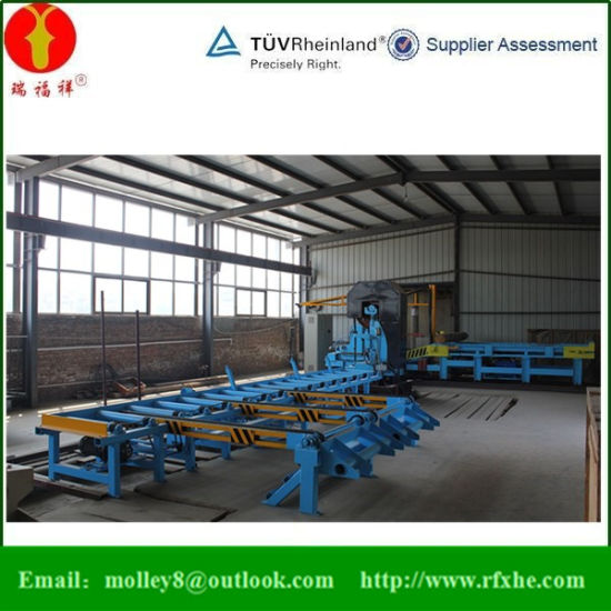 High Speed Band Saw Mj3210bg Wood Pallet Production Line pictures & photos