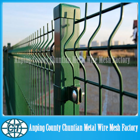China Factory Price of PVC-Coated Wire Fence Panels - China Wire ...