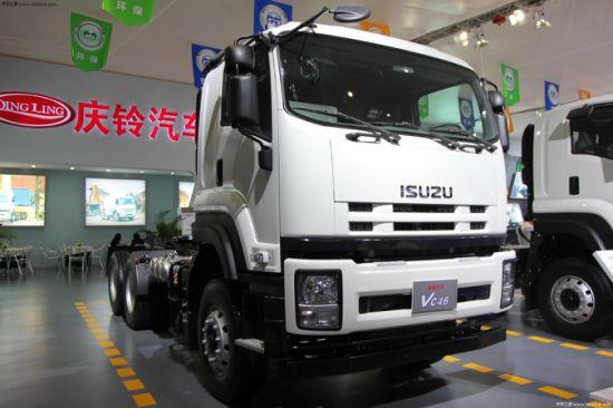 New Isuzu 6x4 Tractor Trailer